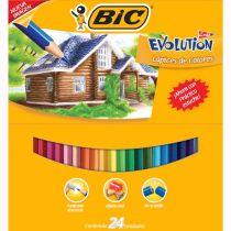 Colores sin madera 24 pzas