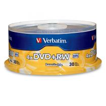 Disco dvd+rw 4x 4.7 gb...