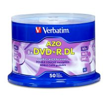 Disco dvd+r dl 8x  8.5gb...