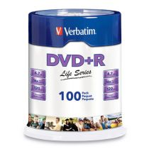 Disco Dvd+r Verbatim 4.7gb...