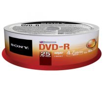 DISCO DVD-R SONY 25DMR47...
