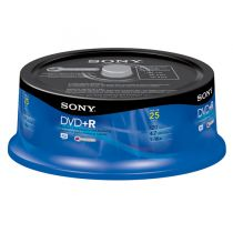 DISCO DVD-R SONY 25DPR47...