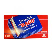 BROCHE BACO B082 METALICO...