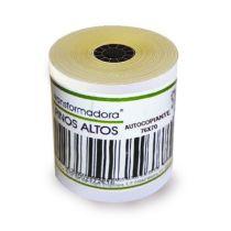 Rollo de papel bond 76mm x...