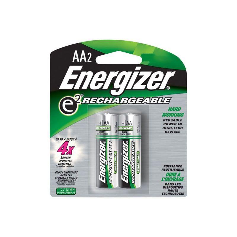 Pila recargable energizer aa 8 pilas for Pilas recargables aa